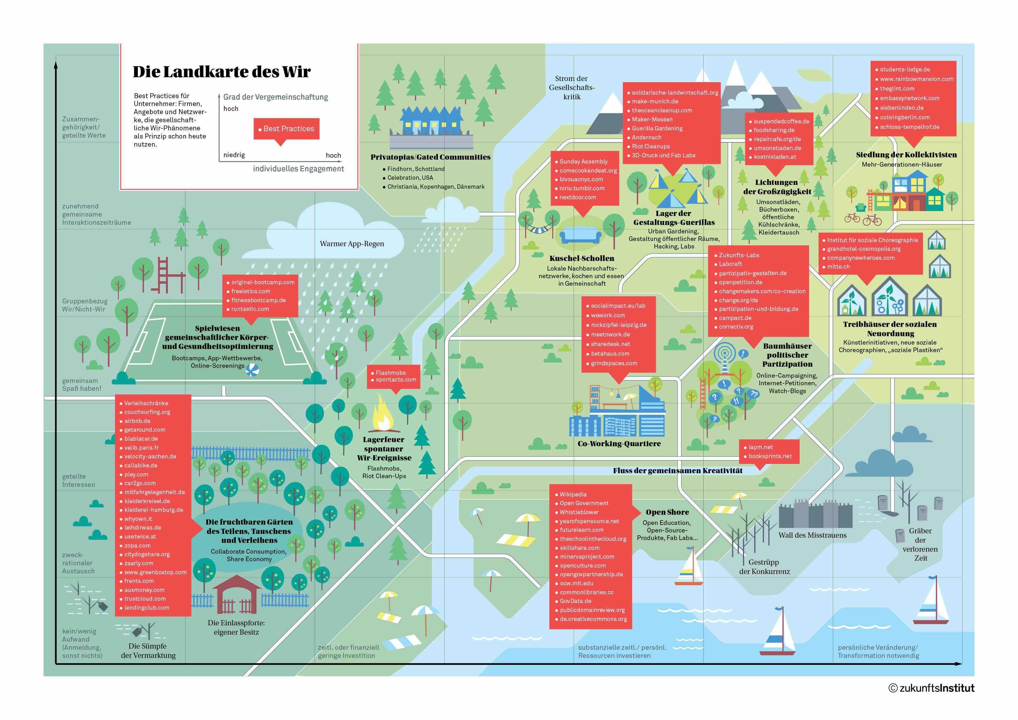 landkarten des lebens Die Landkarte des Wir [Infografik] landkarten des lebens